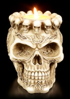 Skull Ashtray or Tealight Holder