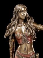 Morrigan Figur - Keltische Göttin mit Rabe