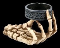 Skeleton Hand Tealight Holder - Set of 2