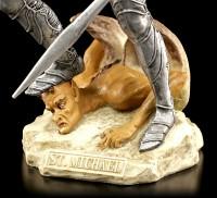 Archangel Michael Figurine - colored