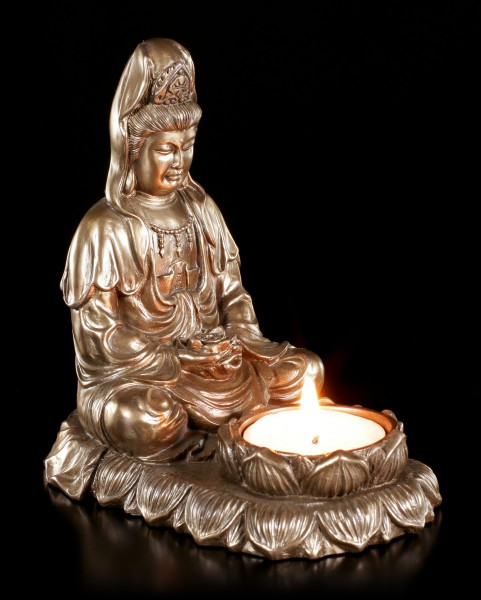 Tealight Holder - Meditation Buddha