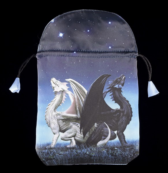 Satin Tarot Bag - Dragons