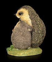 Funny Hedgehog Figurine with Child - For You