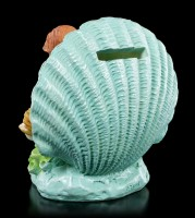 Mermaid Money Bank - Siren with Shell