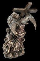 Angel Figurine - Cross-Bearing