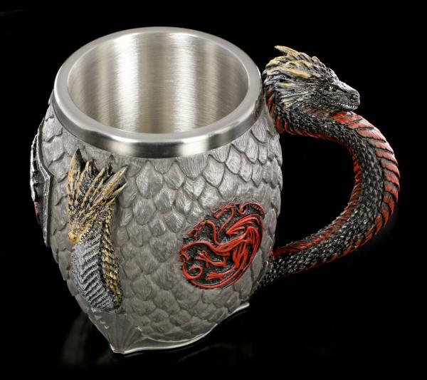 Game of Thrones Tankard - House Targaryen