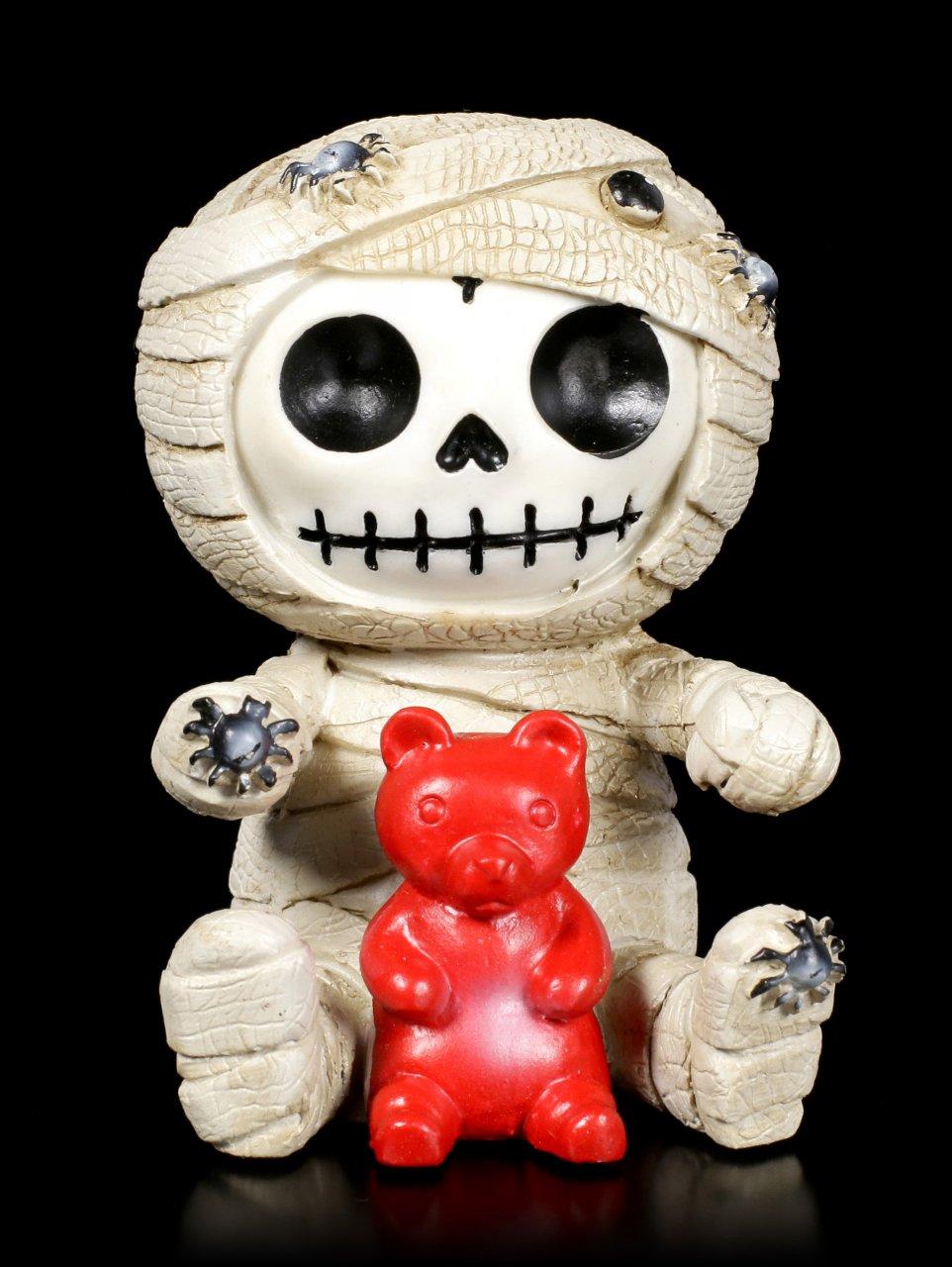 Furry Bones Figurine - Mummy
