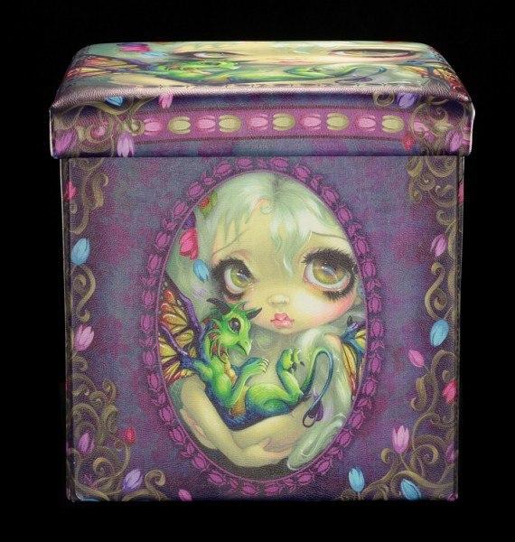 Aufbewahrungsbox mit Sitzmöglichkeit - Darling Dragonling