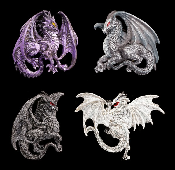 Fridge Magnets - Dragon Legends - Set of 4