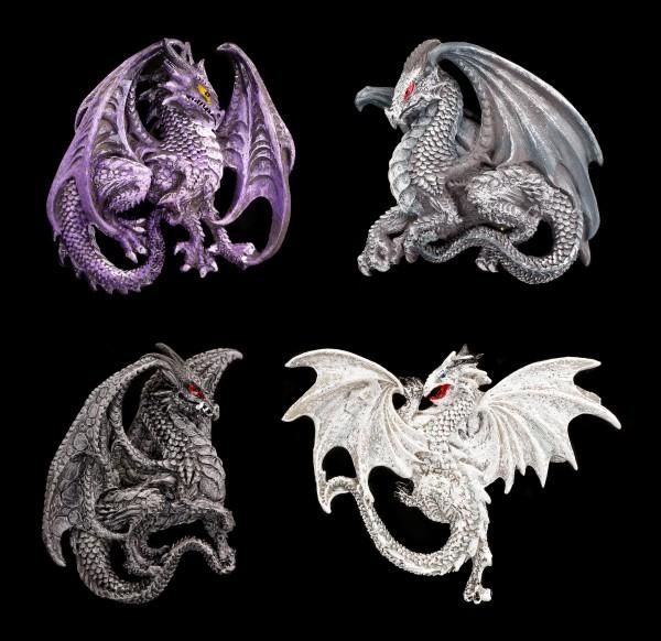 Kühlschrank Magnete - Drachen Legenden - 4er Set