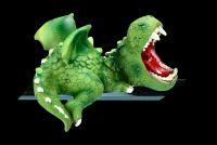 Kantenhocker Set - Süße grüne Drachen