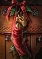 Fantasy Christmas Card - Magical Arrival