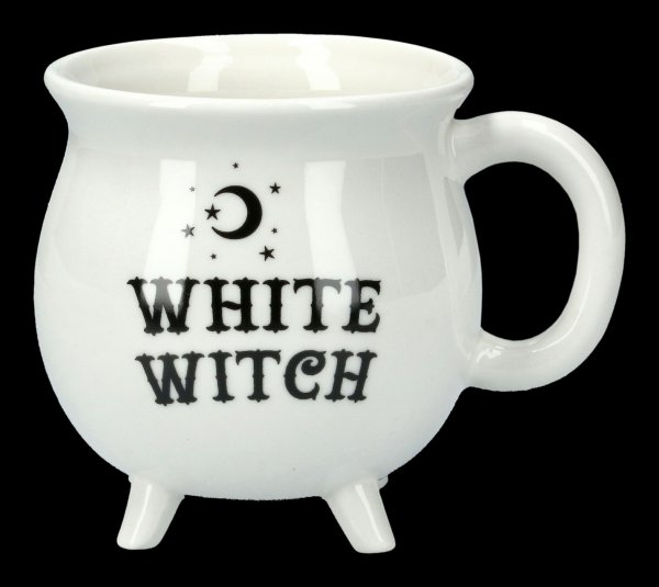 Hexenkessel Tasse - White Witch