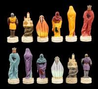 Chessmen Set - Medieval Knights