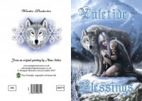 Fantasy Christmas Card Wolf - Protector