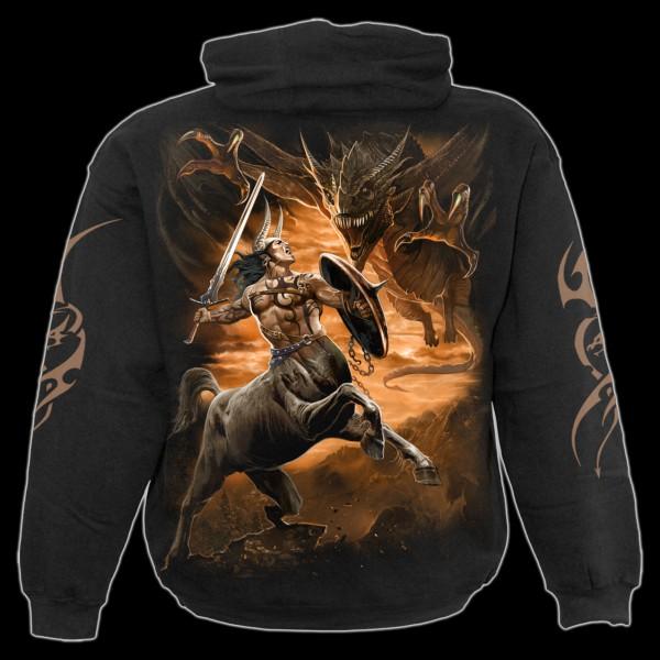 Drachen Kapuzenpullover - Centaur Slayer