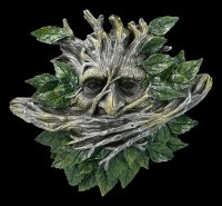 Greenman Wall Plaque Set - No Evil