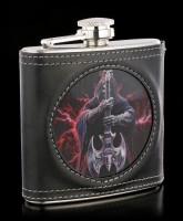 Hip Flask with Reaper - Rock God 3D