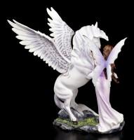 Elfen Figur - Eire mit Pegasus