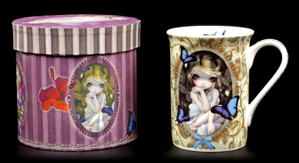 Elfen Porzellan Tasse - Lily
