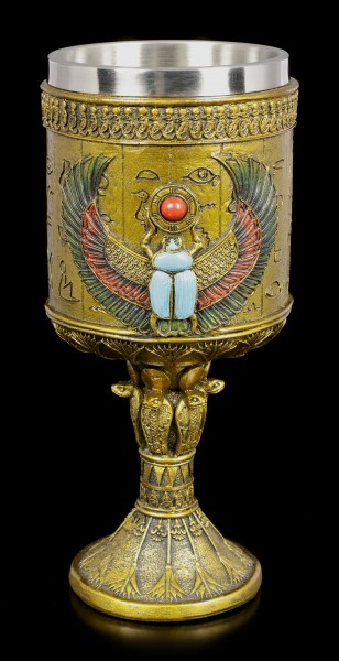 Ceremonial Scarab Goblet Large