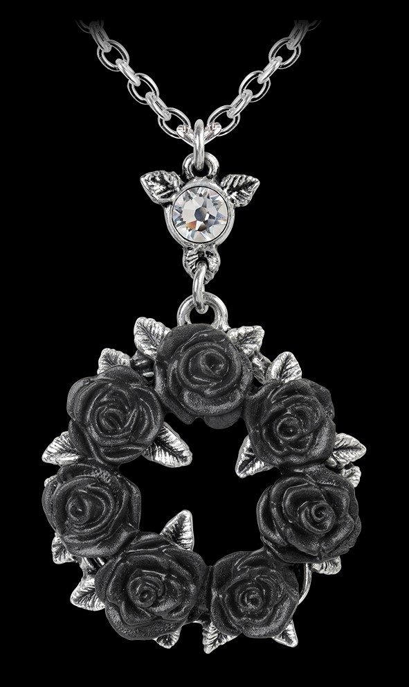 Alchemy Gothic Necklace - Ring O' Roses