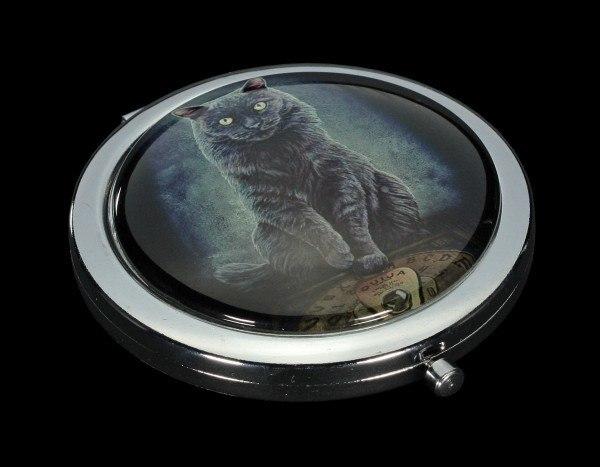 Taschenspiegel mit Katze - His Master's Voice