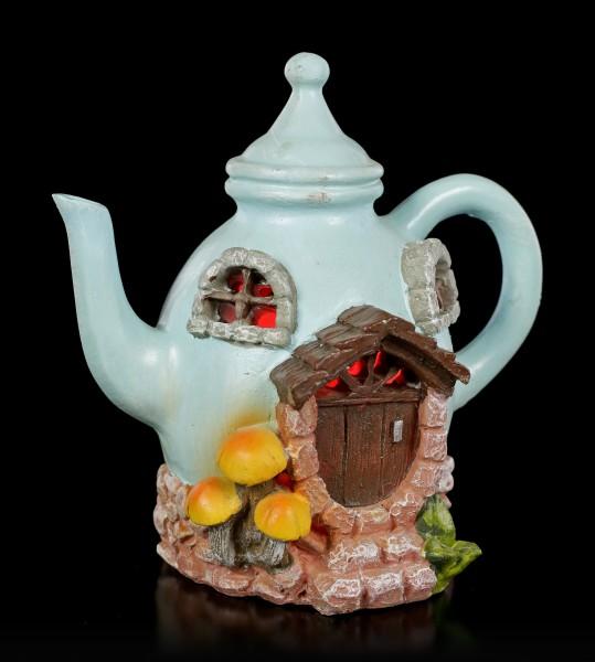 Fairy House with LED - Teapot