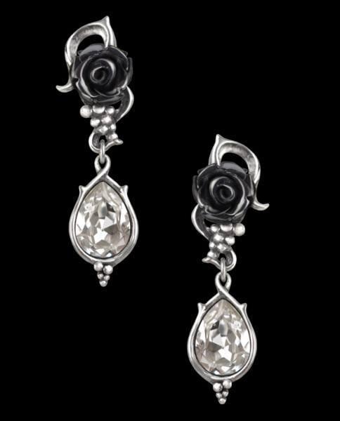 Bacchanal Rose - Alchemy Gothic Earrings