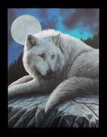 Small Canvas - Guardian of the North by Lisa Parker