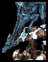 Drachen Figur - Dragons Wisdom - Schnee