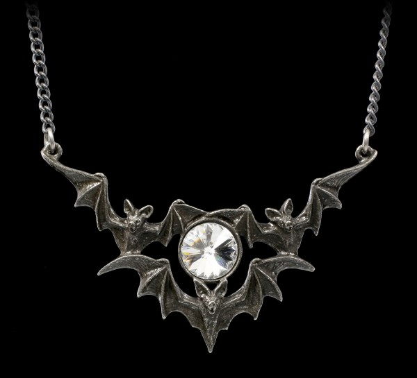 Alchemy Bat Necklace - Phantom
