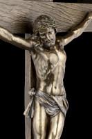 Crucifix Wall Plaque - Jesus on Cross