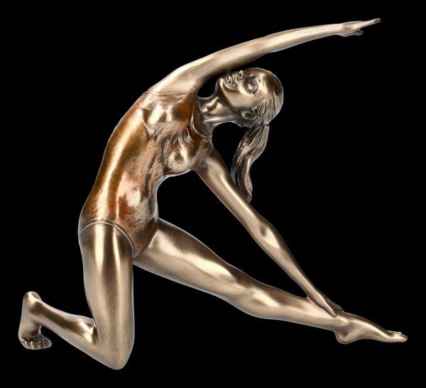 Female Yoga Figurine - Utthia Trikonasana Position