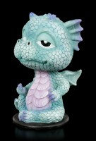 Blue Dragon Bobblehead Figurine