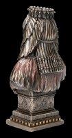 Ägyptische Büste - Kleopatra bronziert