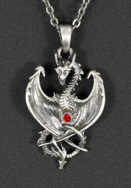 Halskette - Drachen Wächter