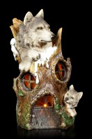 Wolf Treehouse with LED
