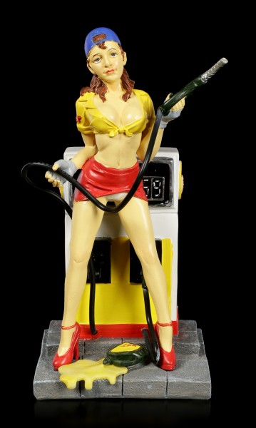 Erotic Figurine - Sexy Gas Station Chick