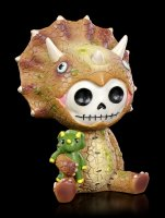 Large Furry Bones Figurine - Spike