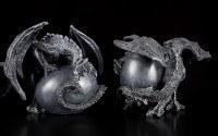 Drachen bewachen Eier - 4er Set