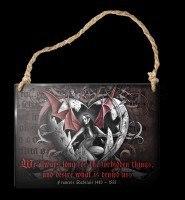 Alchemy Metallschild klein - Forbidden Things