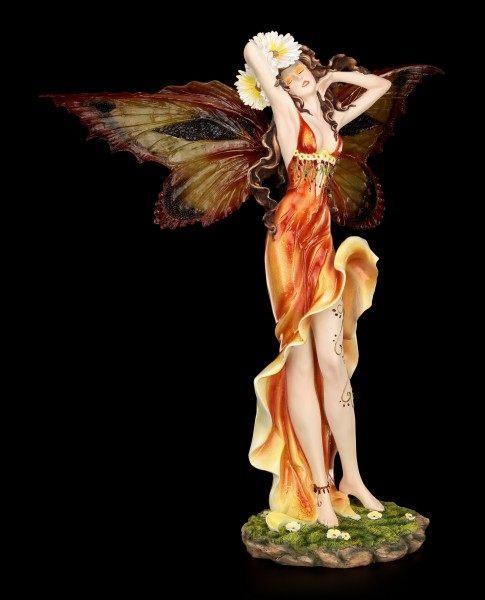 Große Elfen Figur - Papilia mit Schmetterlingsflügeln