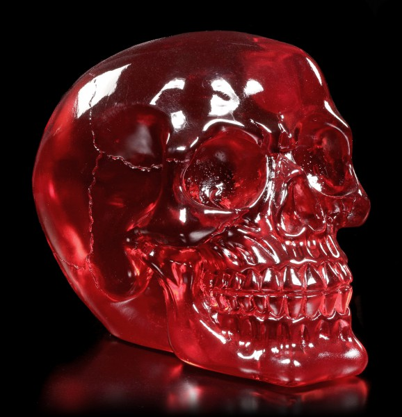Translucent Skull red - Blood Skull