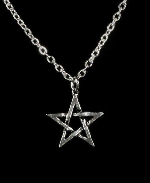 Pentagram - Alchemy Gothic Halskette