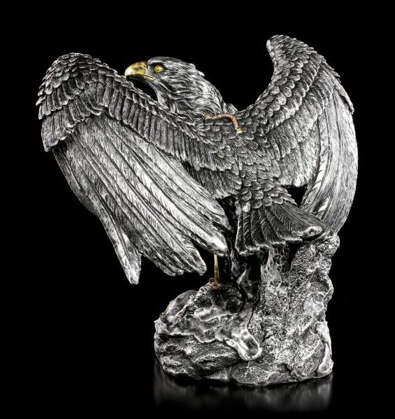 Steampunk Eagle Figurine - Mechanic Guardian