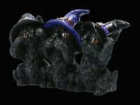 Witch Cats Figurine small - No Evil