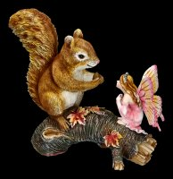 Forest Fairy Figurine - Animalia with Squirrel