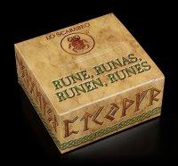 Runes of red Carnelian