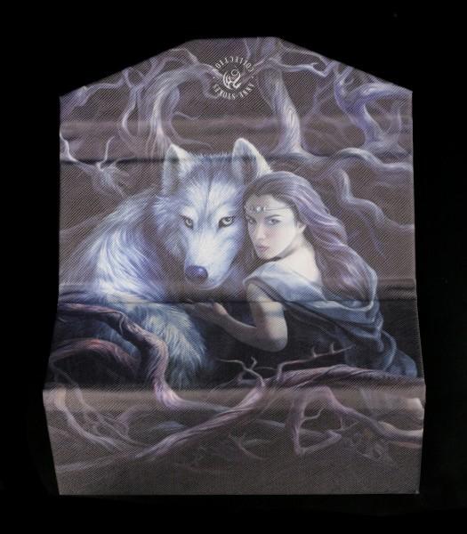 Brillenetui mit Wolf - Soul Bond